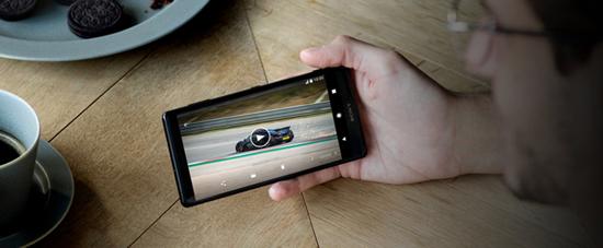 watch Blu-ray movies on Xperia XZ2