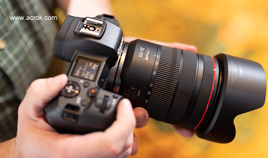 Canon EOS R Video Converter