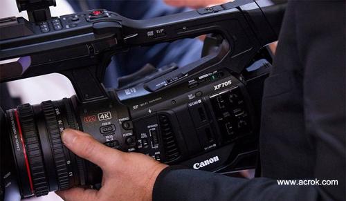Canon XF705 FCP X