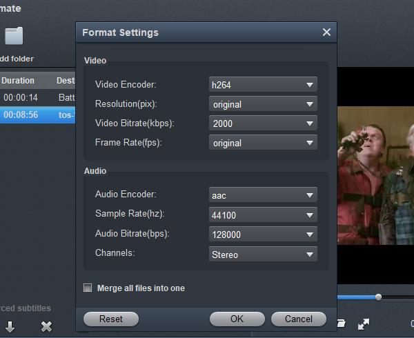 Vegas Pro 18 Video Format - Settings