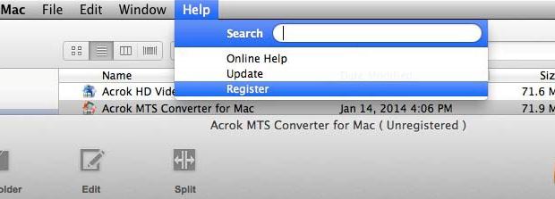 acrok video converter registration code