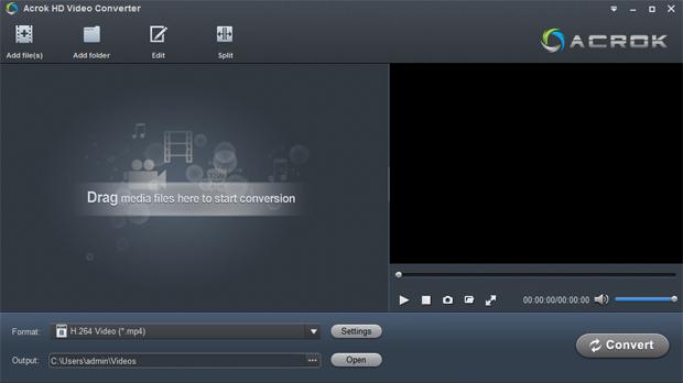Acrok HD Vdieo Converter