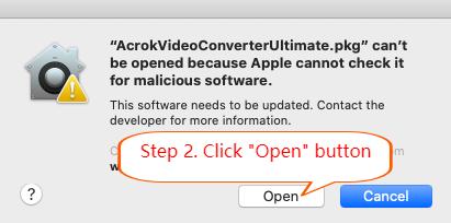 Install Blu-ray Ripper on Mac